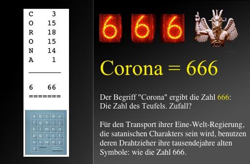 666 zahl bedeutung teufels des 666